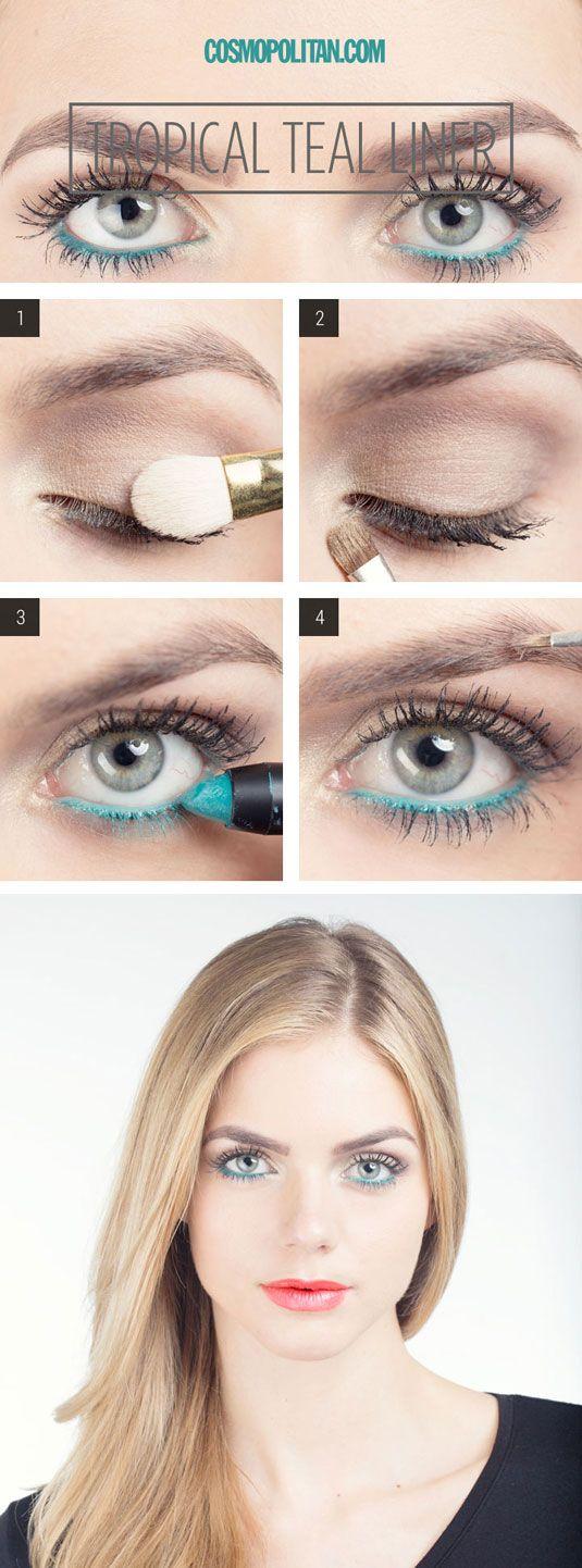 Sexy eye look