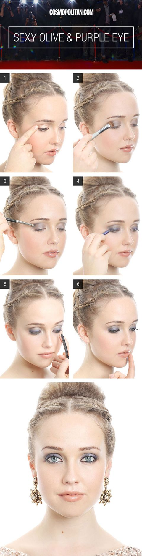 Sexy eye makeup looks sexy eye makeup how tos sexy eyes arent just dark smoky eyes amp up your look with some colorful shadow and this tutorial and watch all the boys and girls heads turn baditri Choice Image