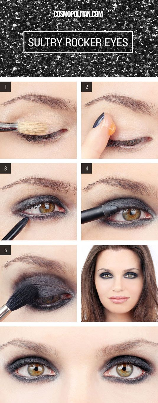 How to make sexy eyes with make-up