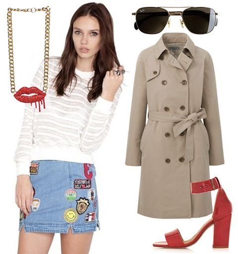 57cbaab2f236 Ways to Wear Short Skirts Without Tights - How to Wear a Mini Skirt