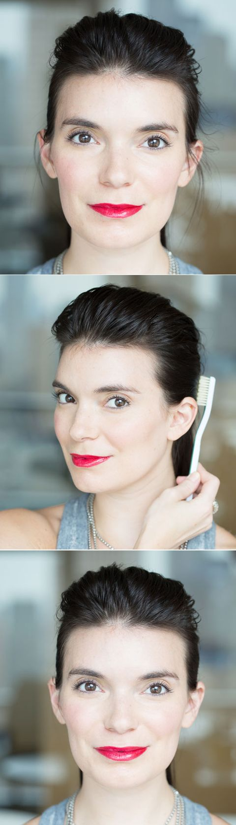 12 life changing beauty hacks you can do with a toothbrush