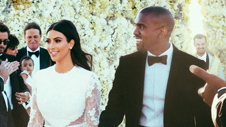 Find Out Exactly How To Recreate Kim Kardashian S Wedding Hair