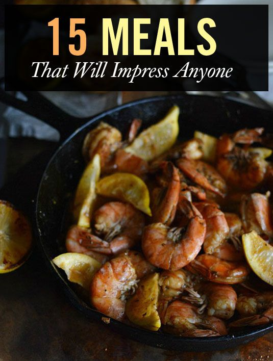 What to cook to impress a man