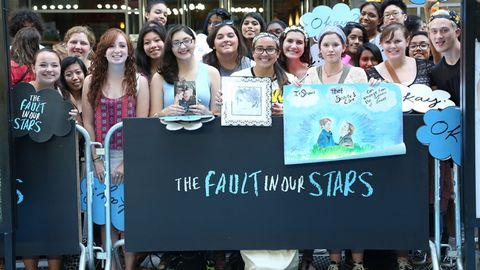 Meet three fault in our stars super fans being a john green super fan isnt just reading one of his books and its definitely not just seeing the fault in our stars at the movie theater and crying m4hsunfo