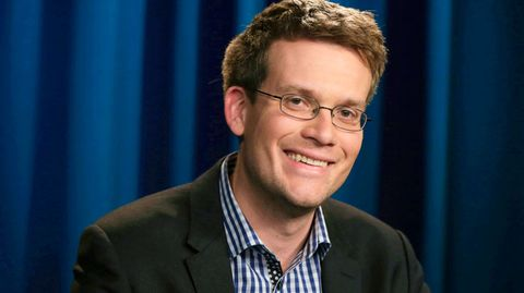"""The Fault in Our Stars"" Author John Green on Love Scenes and Hollywood"