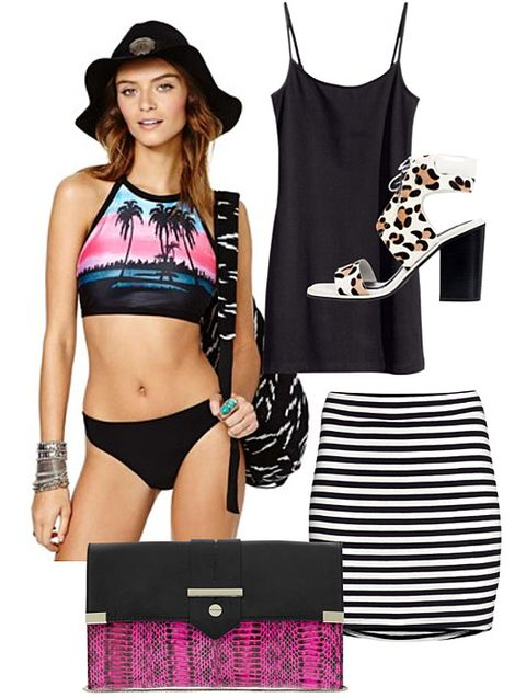 0b6cfedd1c856 How to Wear Swimsuits in Real Life - Swimwear You Can Wear During ...