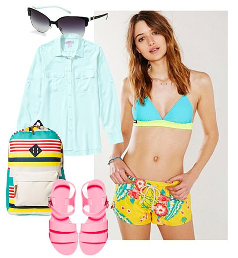 e85bfb4d449a9 How to Wear Swimsuits in Real Life - Swimwear You Can Wear During ...