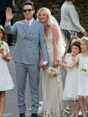 Kate moss wedding picture kate mosss wedding hair and makeup how to have a wedding like a supermodel junglespirit Choice Image