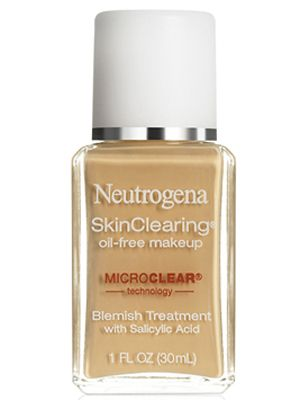 neutrogena skin clearing foundation