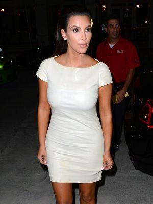 Can You Wear White After Labor Day - Kim Kardashian Wearing White ...