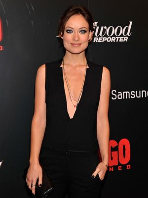 Olivia Wilde Wears A Deep V-Neck Jumpsuit – Olivia Wilde At The Django  Unchained Screening da0a5bd07