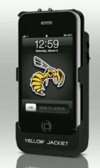 the best attitude 7905f 33c47 Yellow Jacket iPhone Case Stun Gun — Self Defense Tools