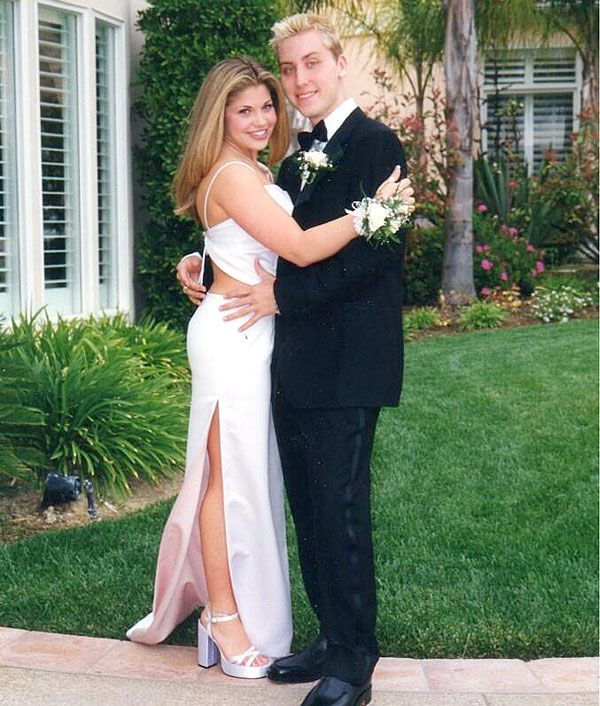 Lance bass danielle fishel prom celebrity prom stories junglespirit Image collections
