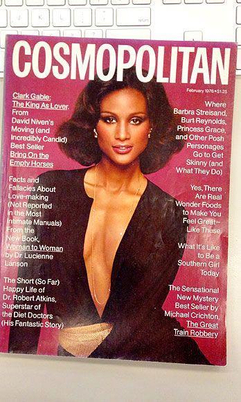 Beverly Johnson February 1976 Cosmopolitan Vintage