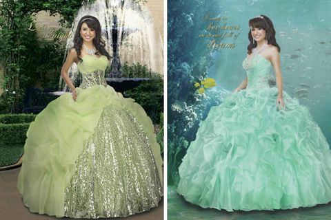 Disney Quinceanera Dresses - Disney Royal Ball Quinceanera Collection