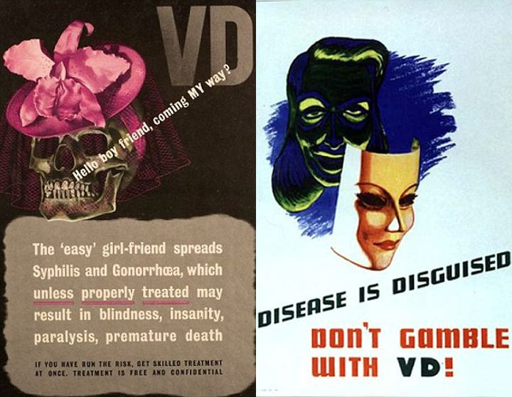 According to These 1940s Sexual Health Ads, All Women Have VD