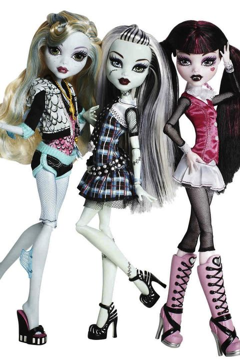 goth barbies second best selling dolls in world monster high dolls
