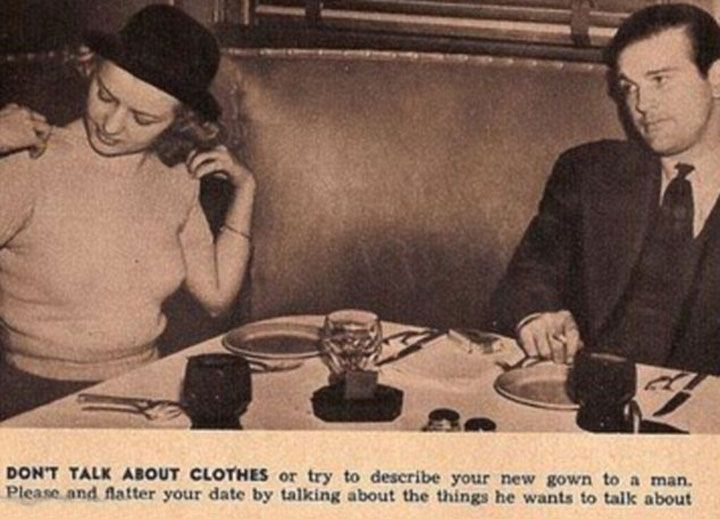 13 Ridiculous Dating Tips For Ladies From The Year 1938