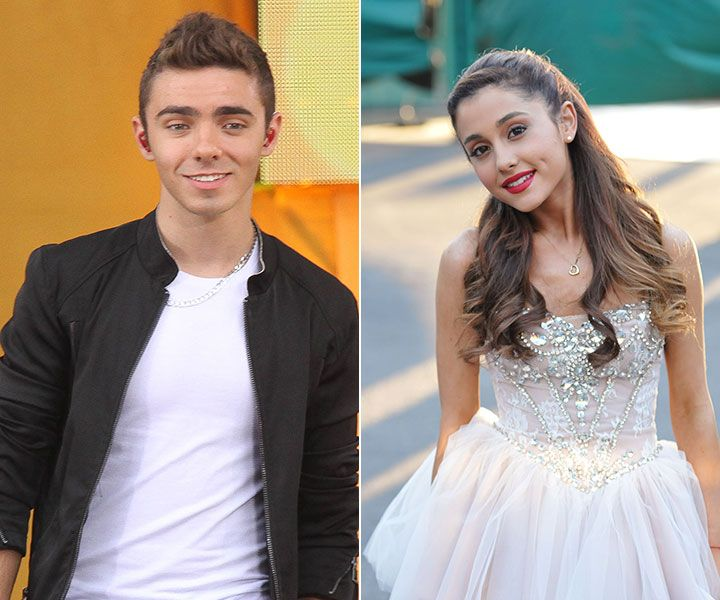 Is ariana grande hookup someone from the wanted