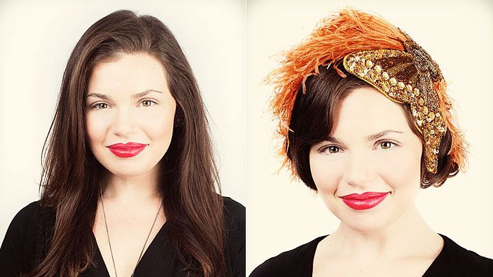 Flapper Girl Hair How To For Halloween