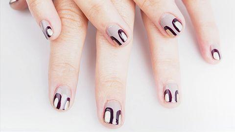 Nail Art How To For Art Deco Nails Nail Art Tutorial