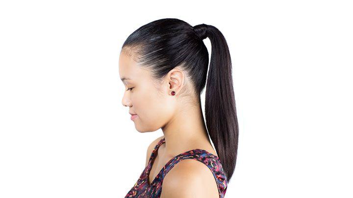 Sleek Ponytail Hair How To Slicked Back Ponytail Look