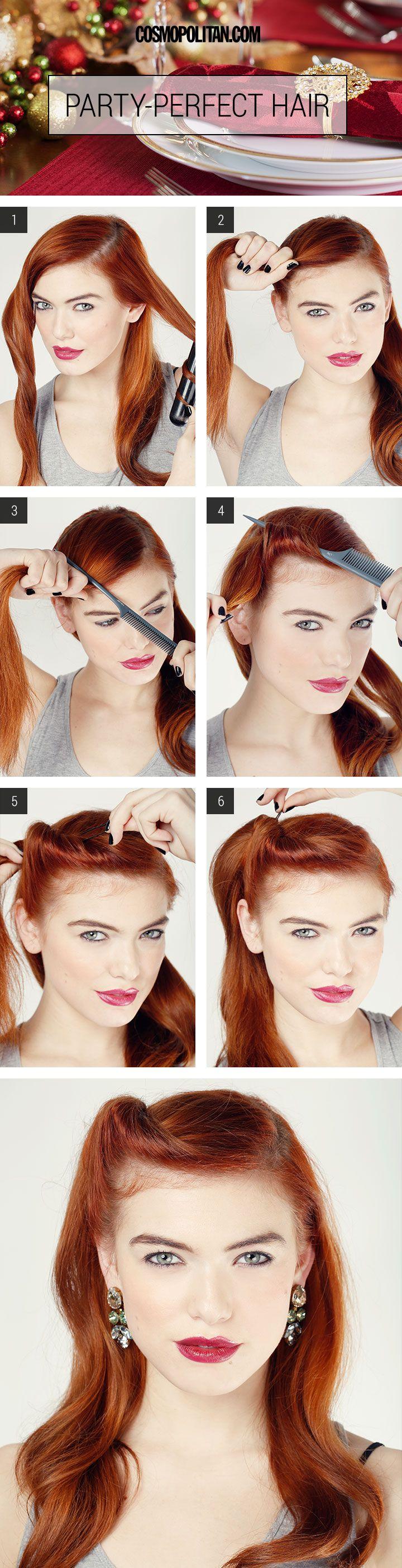 12 Easy Hairstyles You Can Do in 5 Minutes (orLess) pics