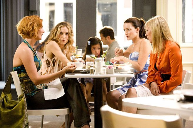 Image result for Carrie Bradshaw with friends