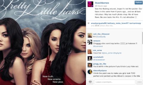 Ashley Benson Slams Pretty Little Liars Ad, Calls It