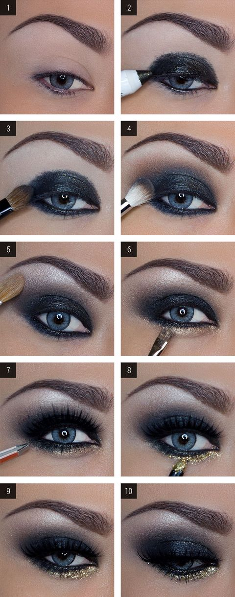 How To Do A Shimmery Smoky Eye Vegas Nay Makeup Tutorial