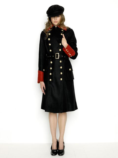 8180a2540 Any belt other than this one would have different colored hardware or a  different texture than the rest of the coat and be distracting, rather than  pulling ...