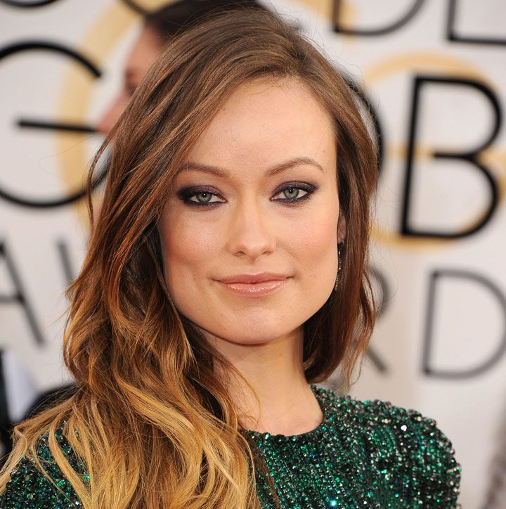 Oscars 2014: Olivia Wilde's Matte Pink Lips and Winged Liner ...