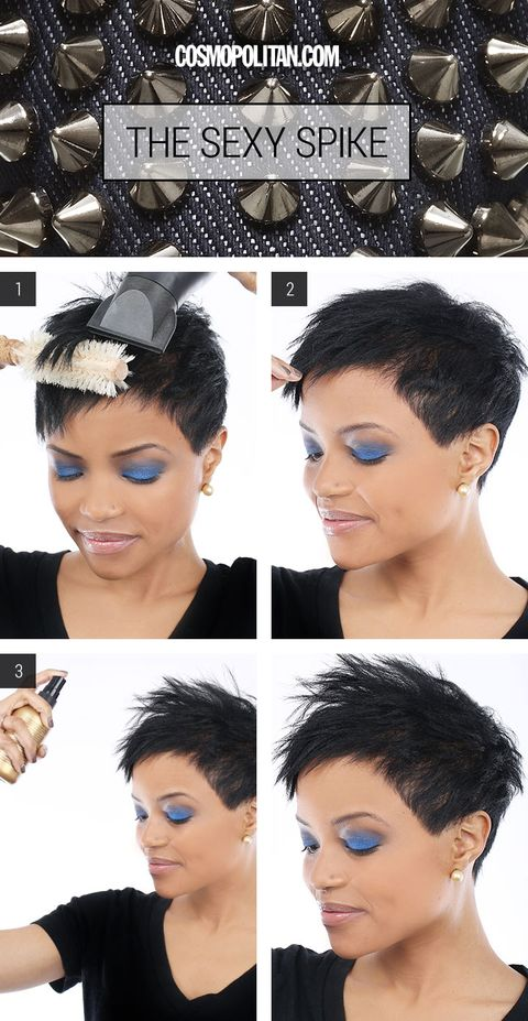 Spiky Hairstyle Tutorial Spiky Hairstyle For Short Hair