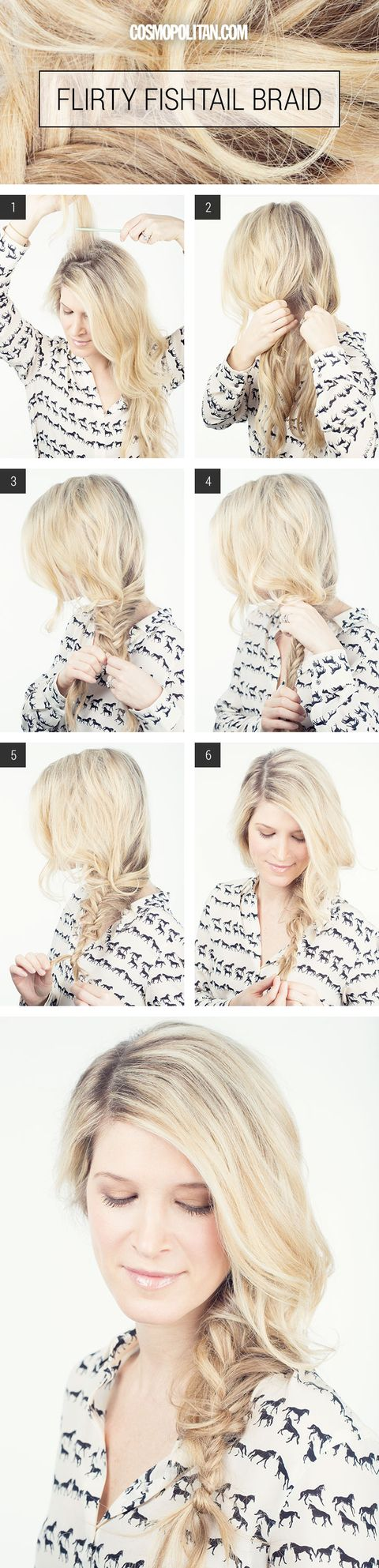 How to Make A Fishtail Braid - Sexy and Sultry Braided Hairstyles ...