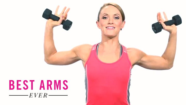 Tone Up Your Arms Shoulders With This 1 Exercise
