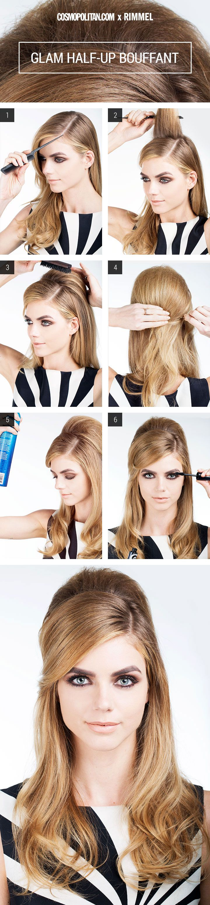 Watch 12 Easy Hairstyles You Can Do in 5 Minutes (orLess) video