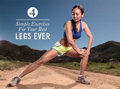 Leg Exercise No 1 Burners