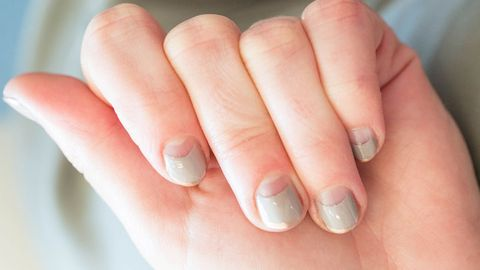 image - How To Half Moon French Manicure - Half Moon Nails