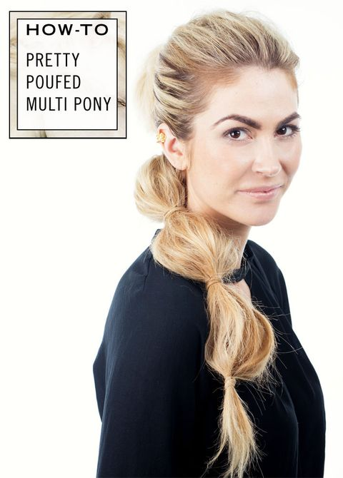 Strange How To Get A Pretty Ponytail Updo Tutorail For A Poufed Multi Pony Schematic Wiring Diagrams Phreekkolirunnerswayorg
