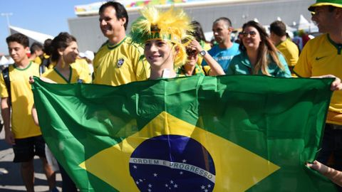 See The Craziest Fan Looks From The World Cup