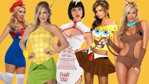 Yellow, Costume, Thigh, Headgear, Costume accessory, Fashion, Youth, Abdomen, Hair accessory, Bangs,
