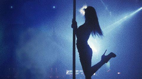 Backlighting, Silhouette, Long hair, Rock concert, Concert, Dance,