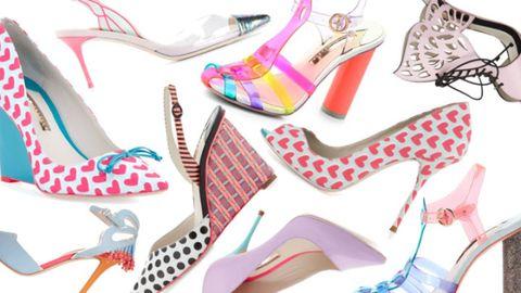 Pink, Fashion, Pattern, Fashion design, Sandal, Design, Basic pump, High heels, Dancing shoe, Walking shoe,
