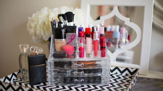 Image result for storing makeup