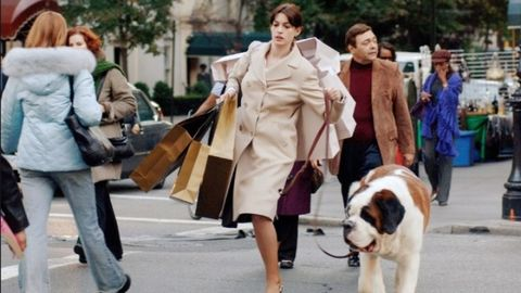 Footwear, Leg, Dog breed, Human, Trousers, Dog, Outerwear, Coat, Carnivore, Street fashion,