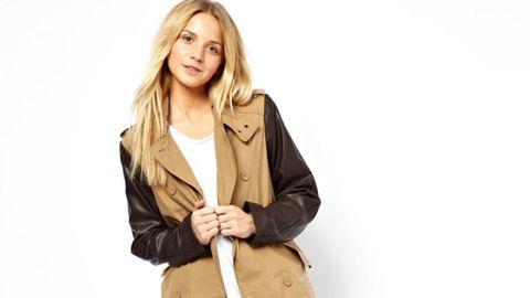 Clothing, Brown, Sleeve, Shoulder, Collar, Textile, Outerwear, Khaki, Jacket, Coat,