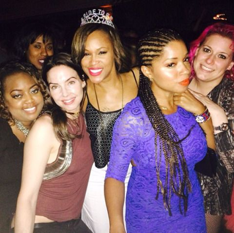Face, Hair, Nose, Ear, Smile, Eye, Fashion accessory, Facial expression, Party, Friendship,