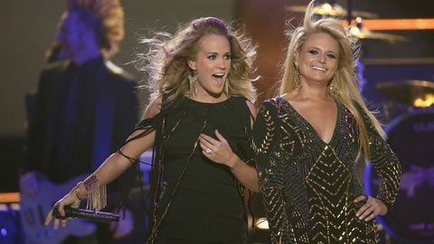 The 11 Most Badass Moments in Miranda Lambert and Carrie Underwood's New Video