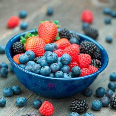 """<p>Stocked with antioxidants, these yummy snacks neutralize damaging free radicals, says Simpson. They also help the body manufacture collagen, leaving your skin firm and smooth.</p> <p><a href=""""http://www.realbeauty.com/health/foods-for-glowing-skin-hair"""" target=""""_blank"""">Check out which foods leave you glowing from head to toe</a>.</p>"""