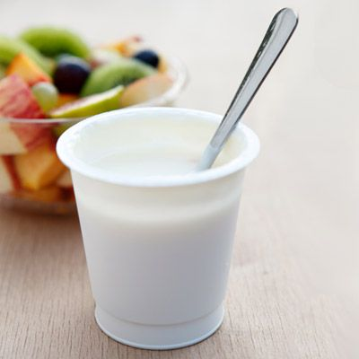 "<p>You already know it's <a href=""http://www.realbeauty.com/health/diet/nutrition/are-enriched-foods-really-better"" target=""_blank"">full of protein and calcium</a>, but yogurt contains other vital nutrients as well, according to Lisa Drayer, MA, RD, author of <em>The Beauty Diet</em>. ""The vitamin B in yogurt is essential for multiple body functions, including cell growth and division."" Just one cup of yogurt has 450 milligrams of calcium, more than a cup of fat-free milk.</p>"